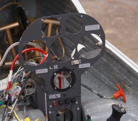 LS4 Cockpit ohne Instrumente
