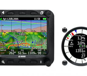 LX8000 GPS und E-Vario
