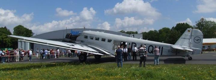 JU52 zum Flugtag in Giebelstadt