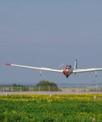 D-KNIT Landung
